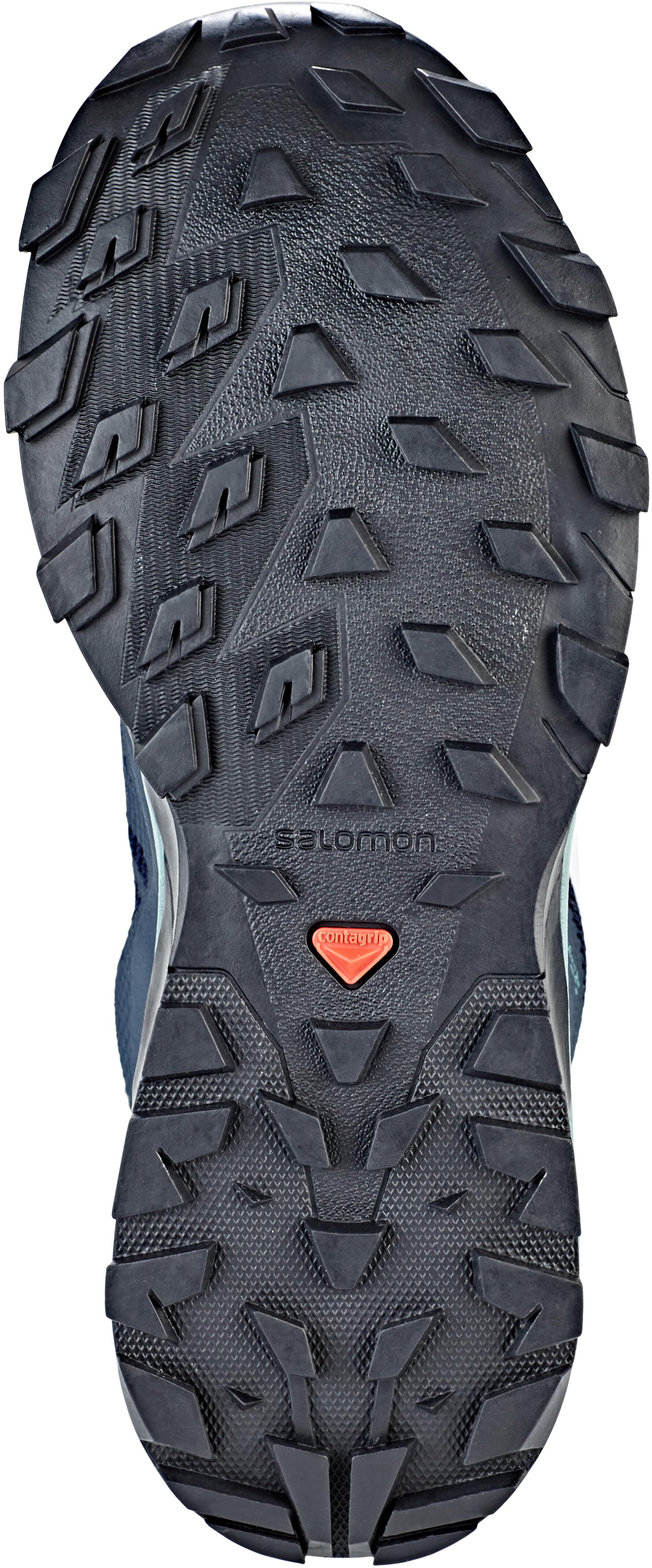 45737a90596 Salomon Outline GTX Shoes Women trellis/navy blazer/guacamole